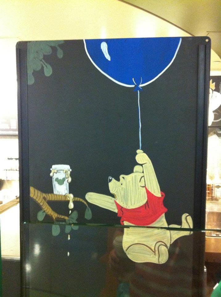 Disney Starbucks Menu Winnie the Pooh