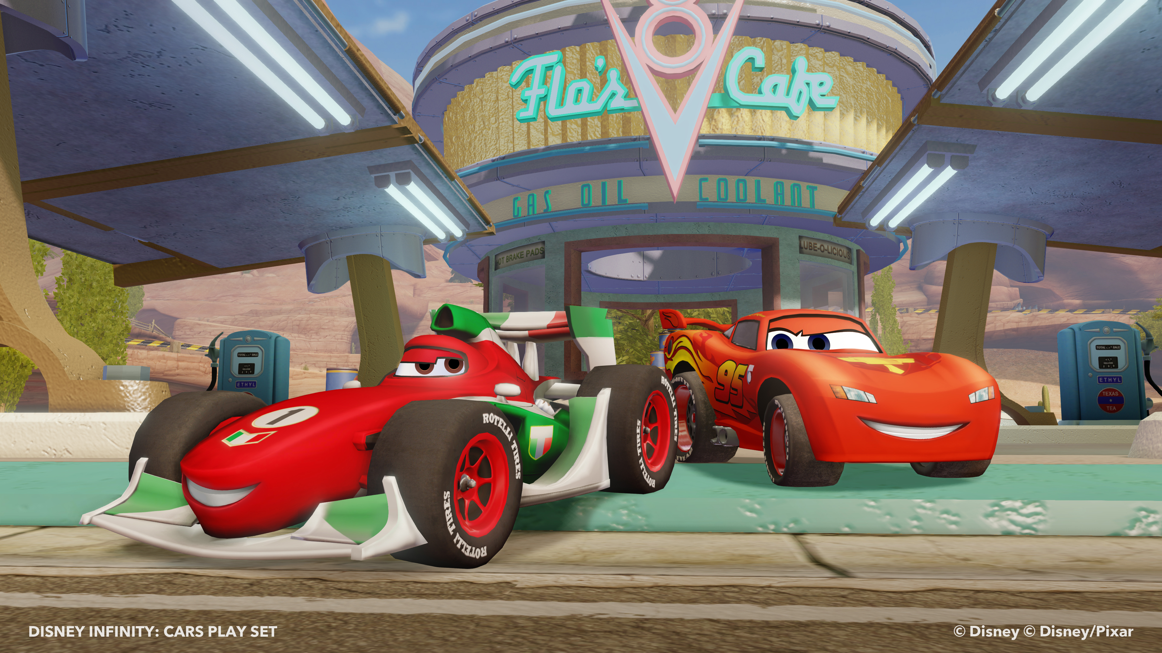 Disney Infinity Cars Play Set Sparklyeverafter