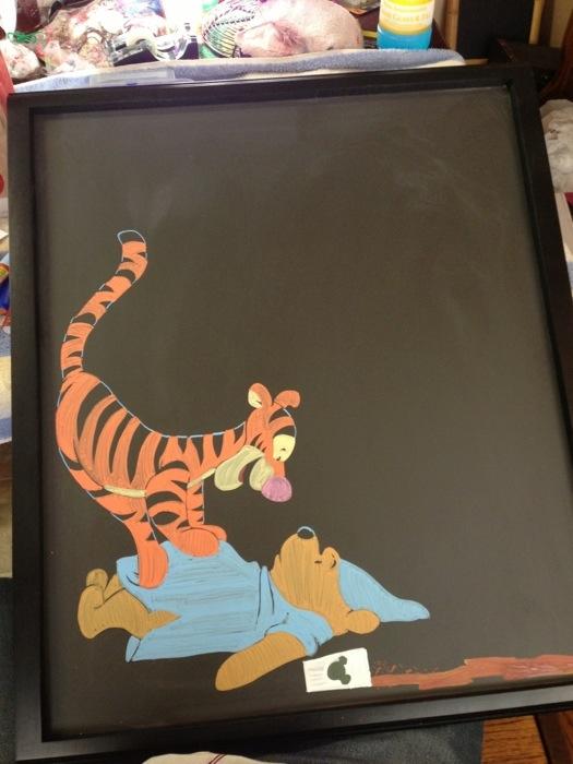 Disney Starbucks Menu Tigger and Pooh