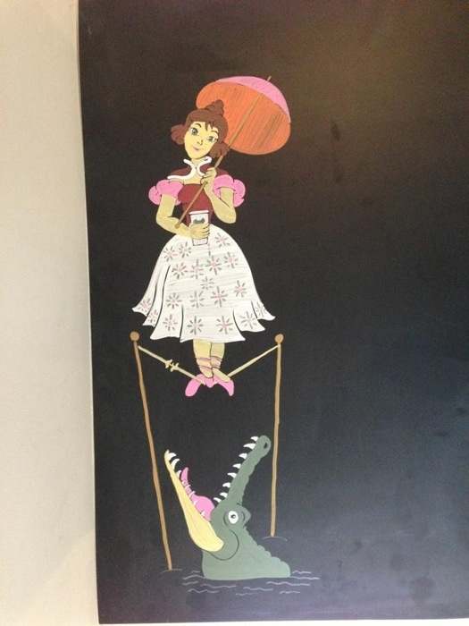 Disney Starbucks Menu Haunted Mansion Stretch Room Ballerina
