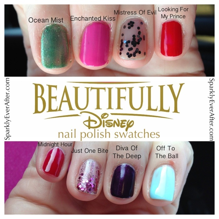 Beautifully Disney Swatches