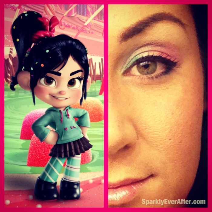 Vanellope Inspired Makeup