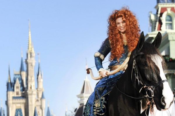 Merida Becomes Official Disney Princess