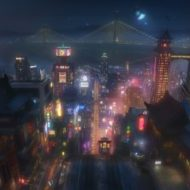 BIG HERO 6 Concept Art San Fransokyo