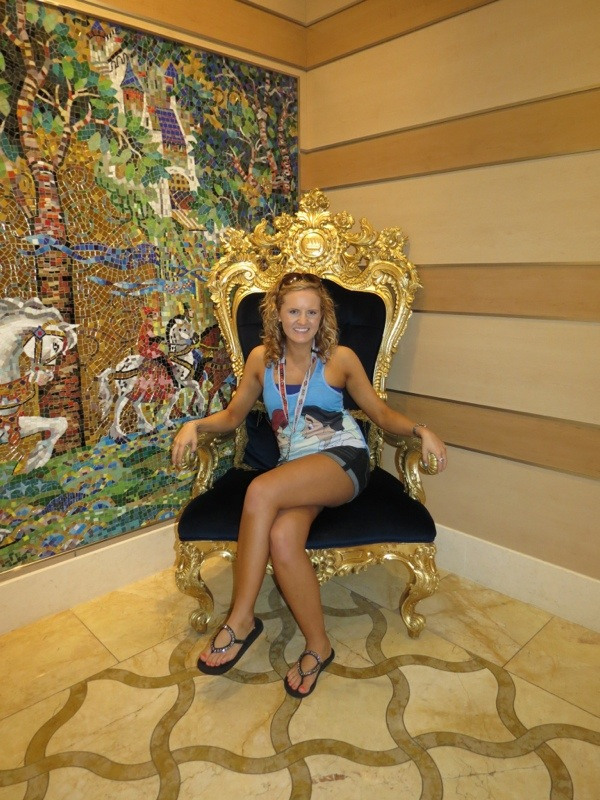 Shelby on The Disney Dream in