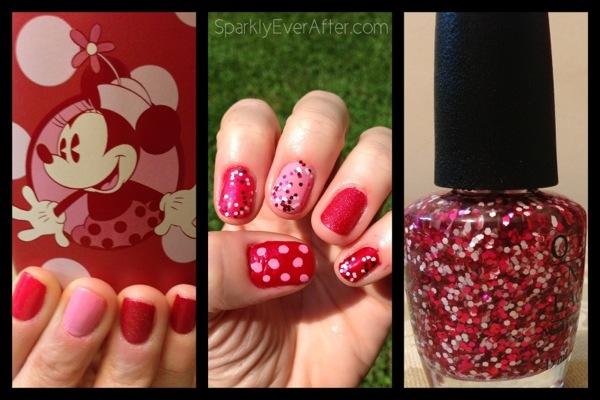Minnie Mouse nail polish from OPI