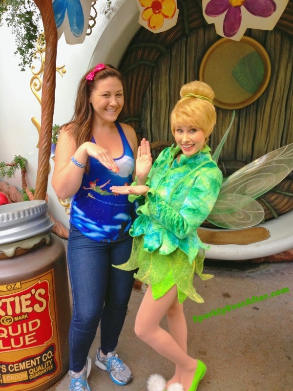 Nicole by OPI Tink Nail Polish as seen by Tinker Bell herself