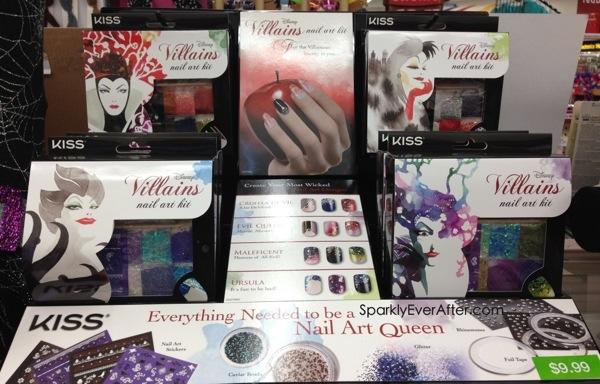 Disney villains nail art lashes cosmetic bags at walgreens 20130912 101818g prinsesfo Images