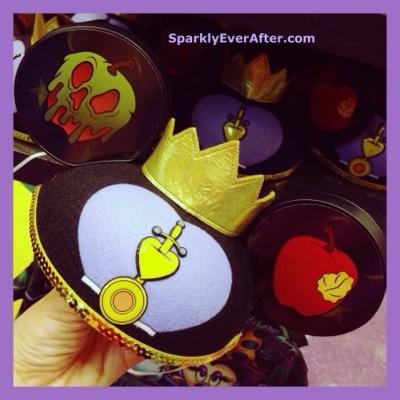Evil Queen Mickey Ears - SparklyEverAfter.comDisney Evil Queen Ears