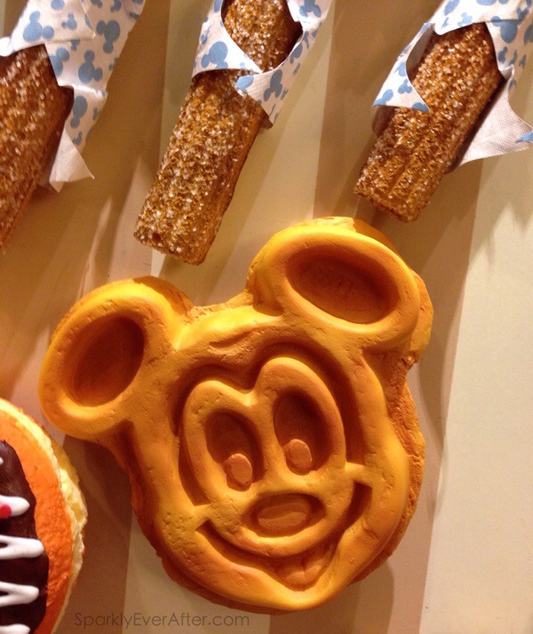 Mickey Waffle magnet at Magic Kingdom