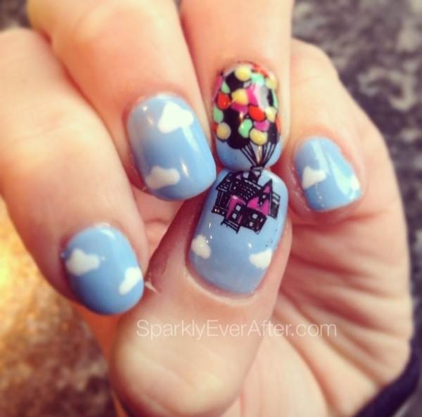 mickey nail stickers