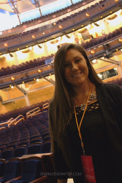 Nicole Siscaretti at the Walt Disney Theater at the Dr Phillips Center for the Performing Arts