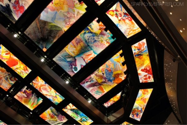 Ceiling of the Alexis and Jim Pugh Theater at the Dr Phillips Center for the Performing Arts