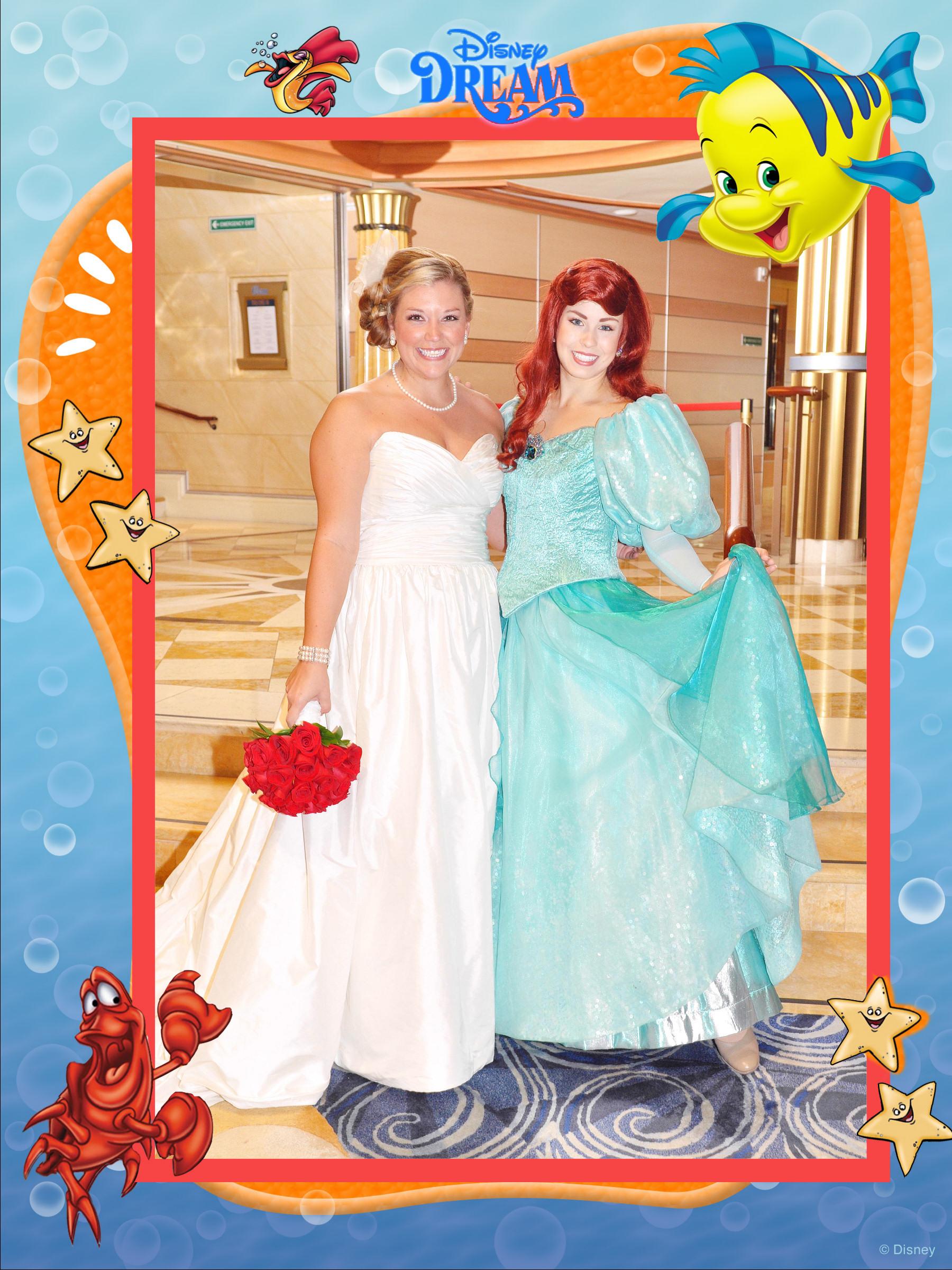 Disney Cruise Wedding Details