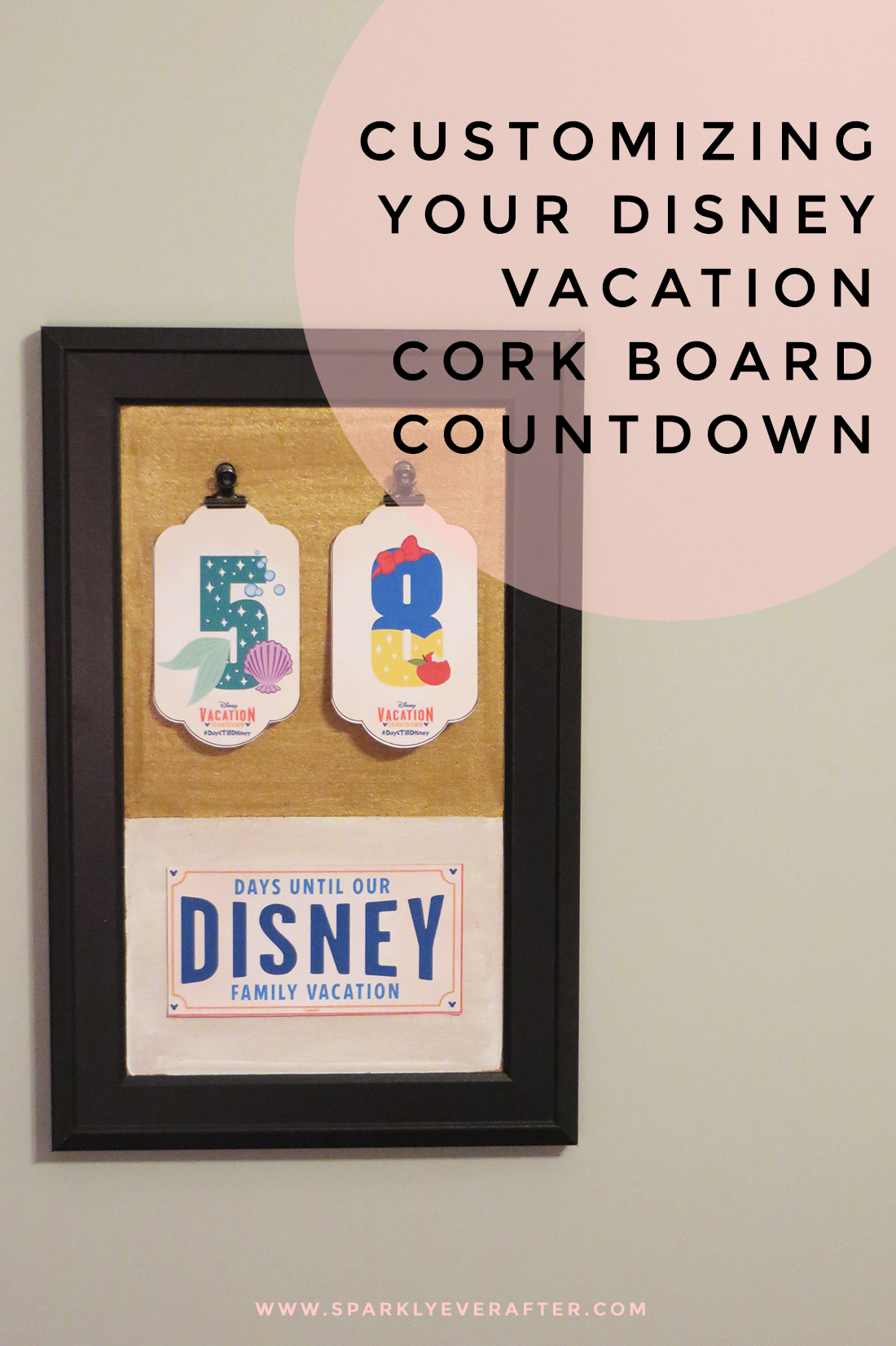 Diy Disney Vacation Countdown Calendar | Calendar Template 2016