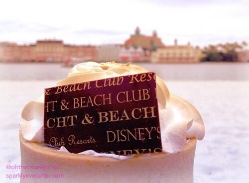 Key Lime Tart at Walt Disney World | SparklyEverAfter.com
