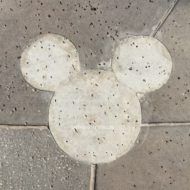 Concrete Mickey at Disney Springs SparklyEverAfter.com