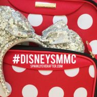 American Tourister Minnie Mouse Luggage SparklyEverAfter.com