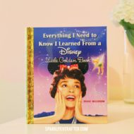 Everything I Need to Know I Learned From a Disney Little Golden Book Review SparklyEverAfter.com