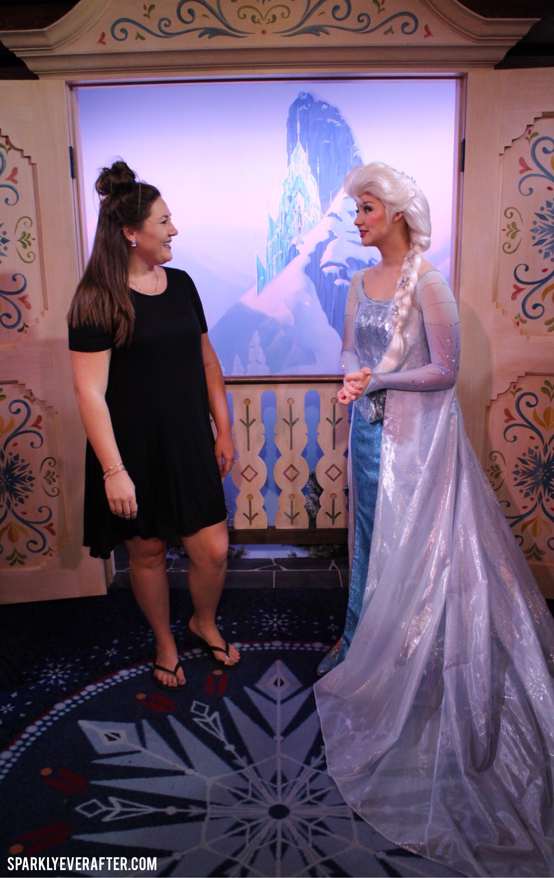 how to meet anna and elsa