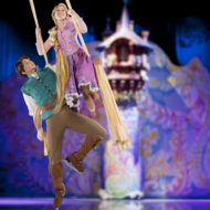Disney On Ice Follow Your Heart Rapunzel and Flynn