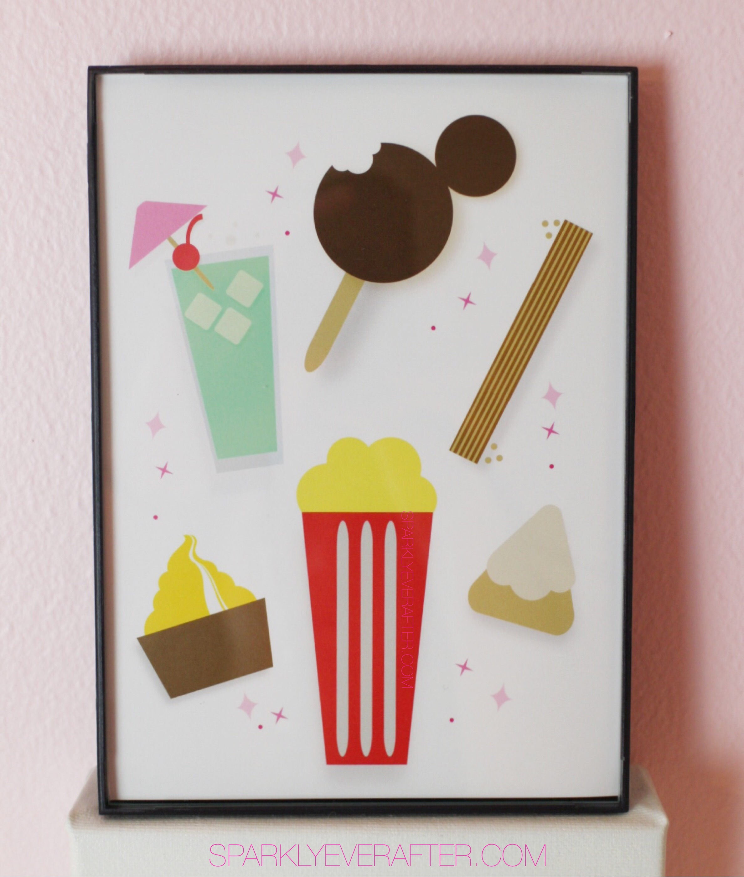 Disney Snacks Print