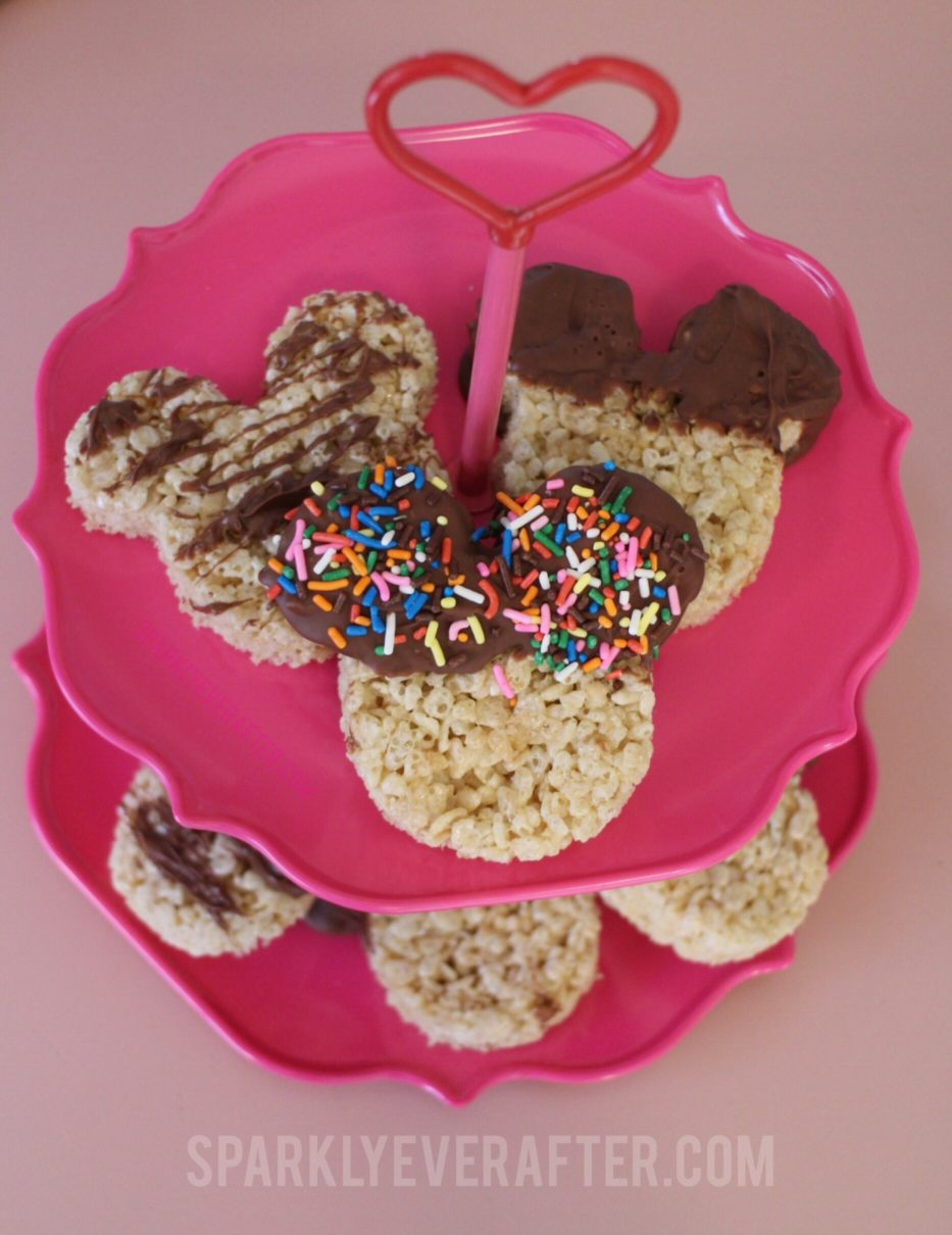 Disney DIY: Mickey Rice Crispy Treats