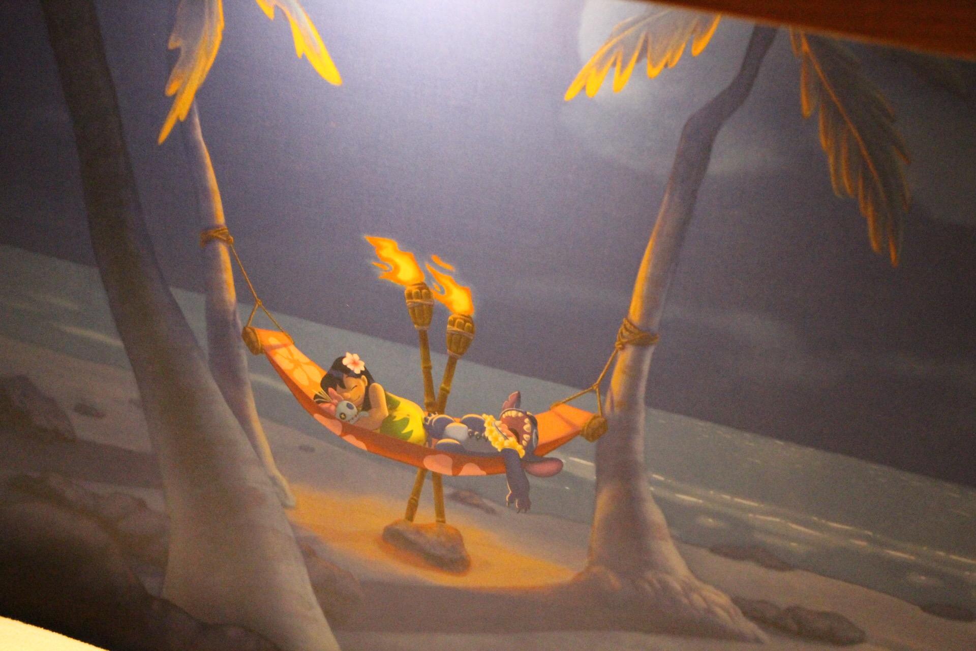 Disney's Polynesian Village Resort Bungalow Lilo & Stitch