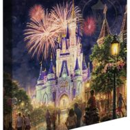 Thomas Kinkade Disney Castle